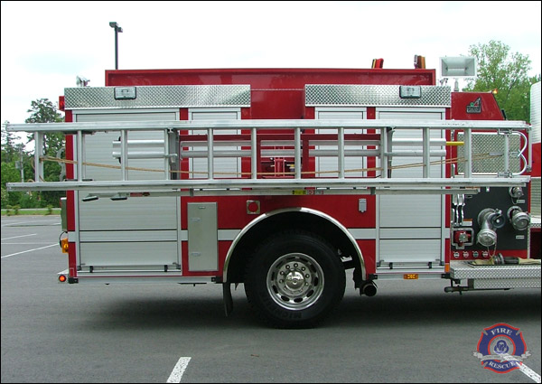 Maumelle Fire Department Interactive Tour Of Engine 1